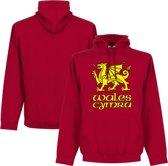 Wales Cymru Hooded Sweater - M