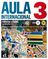 Boek cover Aula internacional - nueva edición 3 libro del alumno/de ejercicios+ cd mp3 van