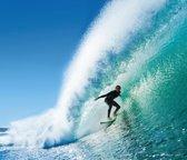 ESTAhome fotobehang surfer blauw en zeegroen