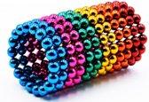 ProMagnet - Neocube - Magneetballetjes 5mm - 6 kleuren - regenboog - 216 balletjes - Magnetisch speelgoed - Anti-stress speelgoed - Magneten - Buckyballs - Magnetisch speelgoed - Magnetische balletjes