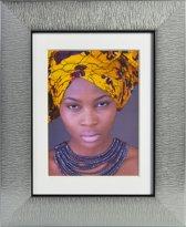 Africa 15x20 Fotolijst - grijs