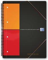 Oxford International Meetingbook - A4+ - notitieboek - geruit 5mm - 160 pagina's