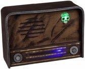 Halloween - Horror radio decoratie met licht en geluid