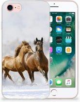Apple iPhone 7 | 8 Uniek TPU Hoesje Paarden
