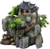 Aqua Della Aquarium decoratie Korean Cottage - 23 x 13 x 22cm