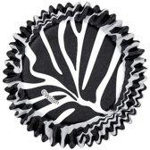 Wilton Cupcake vormpjes Zebra-print pk/36