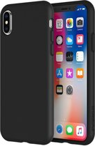 TPU Mat zwart Siliconen back cover Apple Iphone Xr hoesje