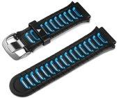 Garmin Forerunner 920XT - Kunststof Horlogeband - Zwart/blauw
