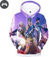 Gamerboy Battle Royale Trui - Sweatshirt geweer - Maat XS