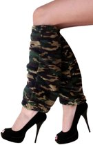 Softy beenwarmers camouflage print one size