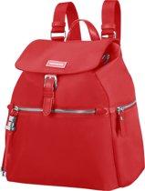 Samsonite Fashion Rugzak - Karissa Backpack 3 Pockets 1 Buckle Formula Red