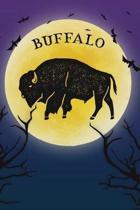 Buffalo Notebook Halloween Journal