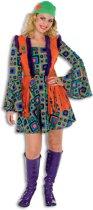 Hippie Kostuum   Hippie Summer Of Love   Vrouw   Maat 38   Carnaval kostuum   Verkleedkleding