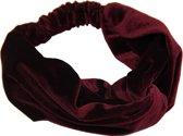 Sieradenmusthaves - Haarband Velvet Blauw