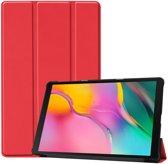 Samsung Galaxy Tab A 10.1 (2019) Hoesje - Smart Book Case - Rood