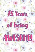 75 Years Of Being Awesome