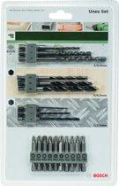 Bosch Uneo Accessoire Set - 19 delig - Geschikt voor Bosch Uneo boorhamer - SDS Quick
