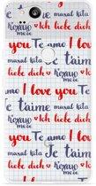 Pixel 2 Hoesje I Love you