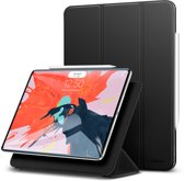 iPad Pro 12.9 - 2018 flip case / hoes - sterk, kwalitatief & duurzaam materiaal - ESR Yippee Magnetic – Zwart & compatible met Apple pencil