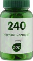 AOV 240 Vitamine B complex 50mg 60 vegacaps - Voedingssupplement
