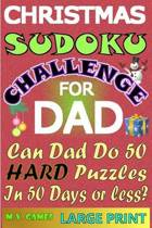 Christmas Sudoku Challenge for Dad