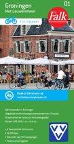 Falkplan fietskaart 1 - Groningen