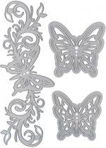 Tonic Studios • Essentials die set butterfly bloom