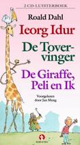 Ieorg Idur/ De tovervinger/ De giraffe, Peli en ik (luisterboek)