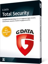 G Data Total Security 2018 - 3 Users (Dutch)