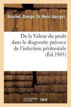 de la Valeur Du Pouls Dans Le Diagnostic Pr coce de l'Infection P riton ale Cons cutive