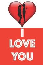 I Love You Valentine's Day Couple Notebook