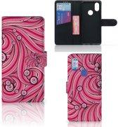 Hoesje Xiaomi Mi A2 Swirl Pink