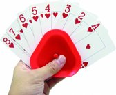Kaartenhouder - 4 stuks- voor gemakkelijk vasthouden van speelkaarten. -