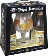 Karmeliet Tripel Bierpakket - 4 x 33 cl + glas