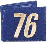 Fallout - Vault 76 vintage denim bifold portemonnee blauw