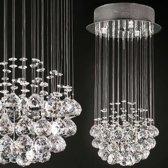 Kristallen plafondlamp 50 cm