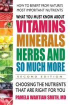 What You Must Know About Vitamins, Minerals, Herbs and So Much More