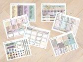 planner Stickers algemeen 2014 voor Mascha Planner