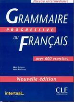 Livre Grammaire progressive du Français - niveau intermédiaire - nouvelle édition