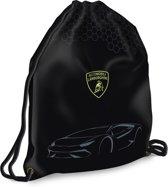 Lamborghini Car - Gymbag - 46 cm - zwart