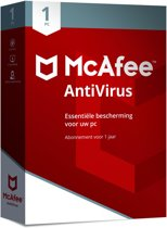 McAfee AntiVirus 2018 - 1 Apparaat - Nederlands - Windows