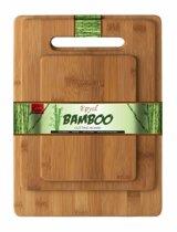 Royal Bamboo Duurzame Bamboe Snijplank 3 Delige Set. Afmetingen snijplanken 30x38cm,  24x33cm, 20x28cm