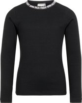 Name it Meisjes T-shirt - Black - Maat 134-140