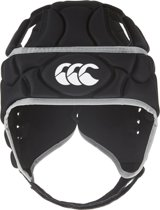 Canterbury Club Plus Headguard - Scrum cap - Senior - Zwart - Maat S