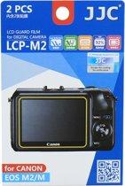 JJC LCP-M2 schermbeschermer Camera Canon 2 stuk(s)