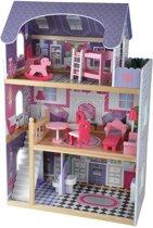 Poppenhuis Angels Residence met 15 delige meubelset