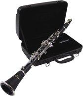 DIMAVERY Klarinet - K-17 Bb - Clarinet - 17 toetsen - Inclusief koffer en accessoires