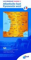 ANWB wegenkaart - Frankrijk 10. Atlantische kust,Pyreneeën west
