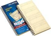 5x Atlanta by Jalema terugbelboeken 400 notities, zelfkopierend, Nederlandstalig