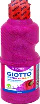 Giotto Bottle 250 ml Glitter paint Magenta (red primary)